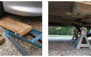 Les chandelles ou la rampe de levage, laquelle utiliser pour la vidange ?